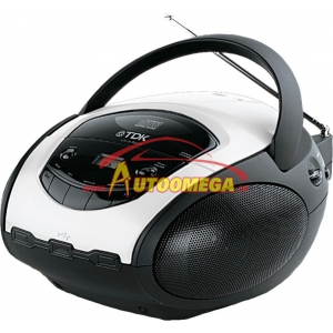 Rádio - TDK TBC8717WH Boombox AM+FM/USB/CD/MP3
