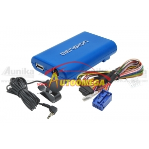 Adaptér - AUX/USB/iPod/Blueto pre OEM rádiá do automobilov ŠKODA/VW - DENSION GATEWAY Lite3 BT